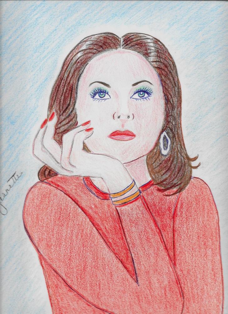 Hedy Lamarr by Jeanette